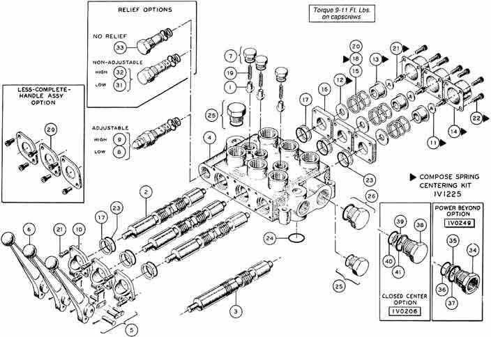parker hydraulic cylinder diagram