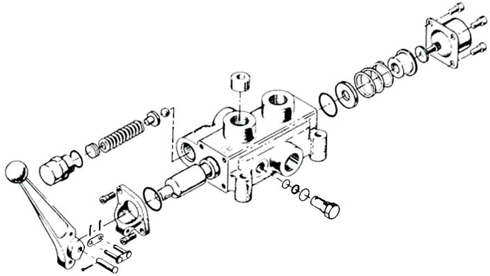 Directional Control Valves Service Manual | Cross Mfg. on vickers hydraulic control valve parts, vickers vane pump diagram, cross hydraulic valve diagram,